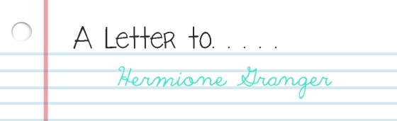 A Letter To Hermione Granger Book Blog Bake