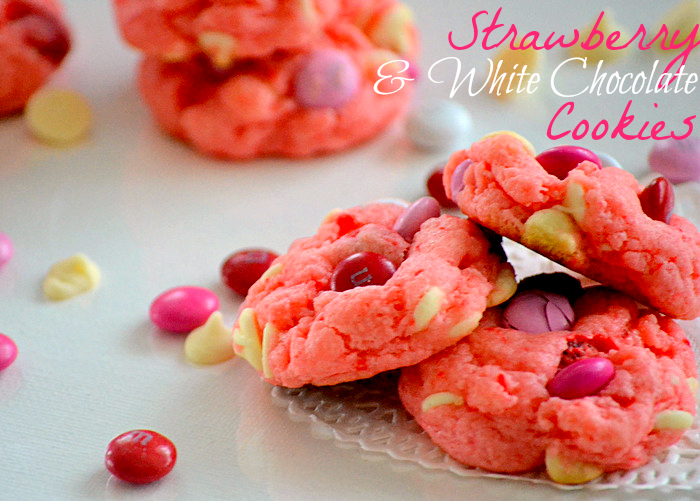 Strawberry Cake Mix Cookies | Beautiful Scenery Photography